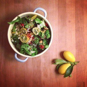 Ottolenghi Broccoli And Lemon Salad Whenannacooks Com